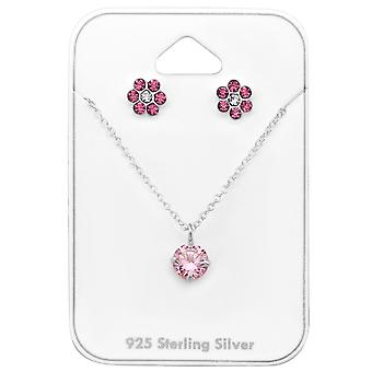 Flower - 925 Sterling Silver Sets - W33933x