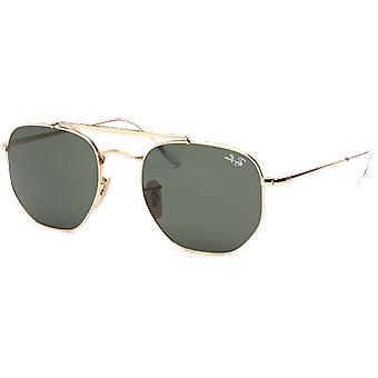 Ray-Ban The Marshal 3648 Golden Green Classic G-15