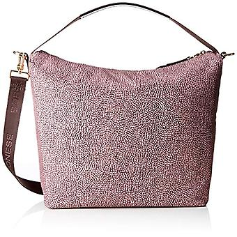 Borbonese 934236296 Women's Pink Shoulder bag (Quartz) 30x31x12 cm (W x H x L)