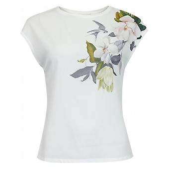 Tricou de mătase cu imprimeu Ted Baker Opal