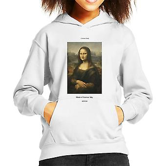 A.P.O.H Mona Lisa Made In Florence Kid's Hooded Sweatshirt