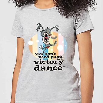 I Am Weasel You Don't Need Pants For The Victory Dance Women's T-Shirt - Grey