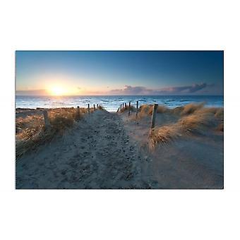 Deco Panel, Sonnenuntergang über dem Meer