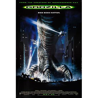 Godzilla (Regular) (1998) Original Cinema Poster