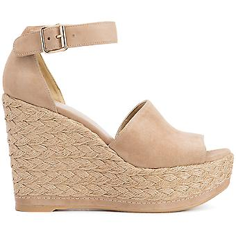 Soho Jute Wedge Sandals