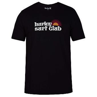 Hurley Spin Shine Short Sleeve T-Shirt in Black