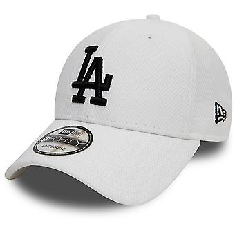 New Era Los Angeles Dodgers MLB Diamond Era 9Forty Cap en Blanco Negro