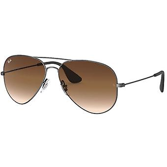 Ray-Ban RB3558 Black Brown Degraded