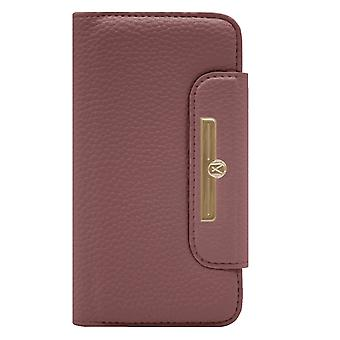 Marvêlle iPhone XR Magnetic Case & Wallet Dark Pink Chic