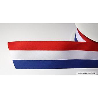 Union Jack Wear Red White & Blue Ribbon 15mm
