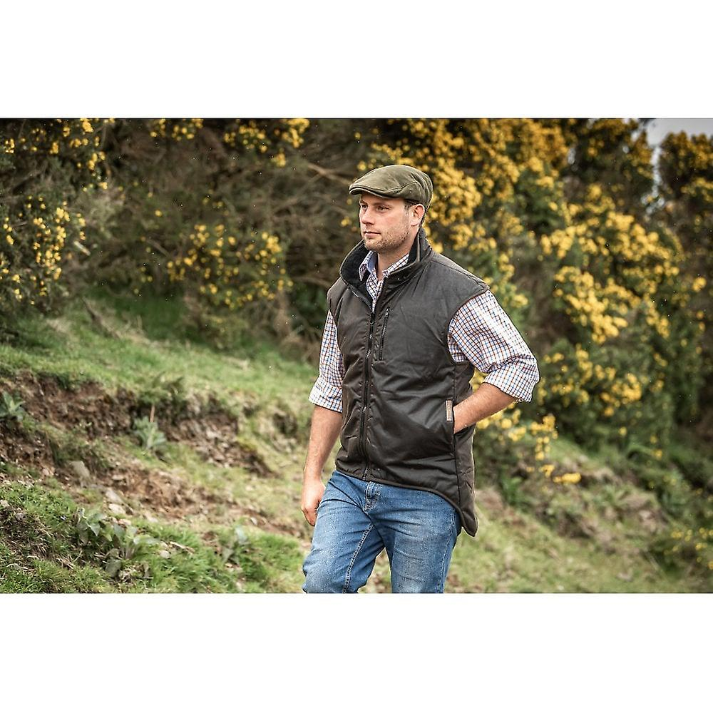 Styx Mill Brown Lined Vest With Tail