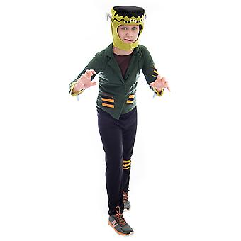 Costum de Halloween-Top Frankenstein, mare