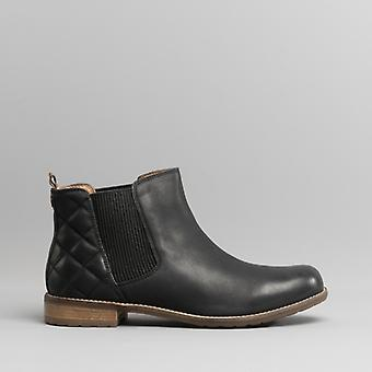 Barbour Abigail Ladies Leather Chelsea Boots Black