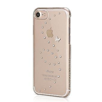 Hull For IPhone 8 / IPhone 7 Butterfly Pure Shine With Swarovski Crystals