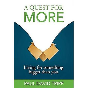 A Quest for More - Living for Something Bigger Than You by Paul David