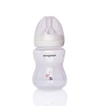 Baby Bottle Drinking Bottle C0562 Birdy 180 ml Girl Silicone Vacuum Size 1 from Birth