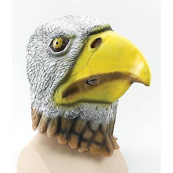 鷲鳥のマスクです。ゴムのオーバーヘッド。