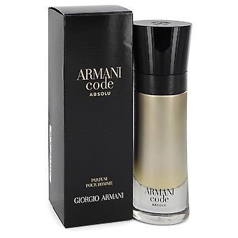 Armani Code Absolu Eau De Parfum Spray By Giorgio Armani   544852 60 ml