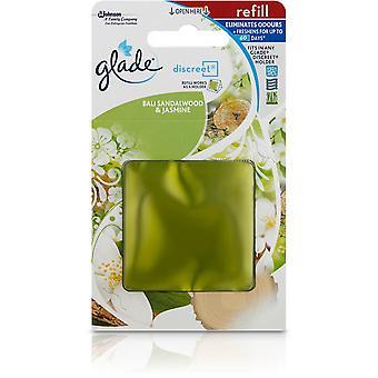 4 X 8G Glade Discreet Refills - Bali Sandalwood & Jasmine