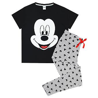 Disney Mickey Mouse Women's Novelty Character Pyjama Sleep Set