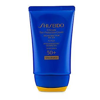 Shiseido Ultimative Sonnenschutz Creme Wetforce für Gesicht Spf 50 + 50ml/1,7 Unzen