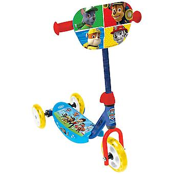 PAW PATROL Three Wheel Scooter with Adjustable Handlebar - Multicoloured (OPAW110)