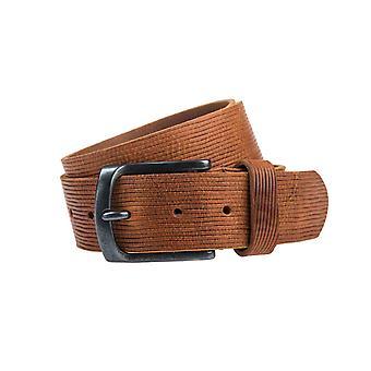 Schöne braune Jeans Gürtel - 40 mm breit