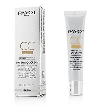 Payot Uni Skin Cc Crema Spf30 - 40ml/ 1.3oz