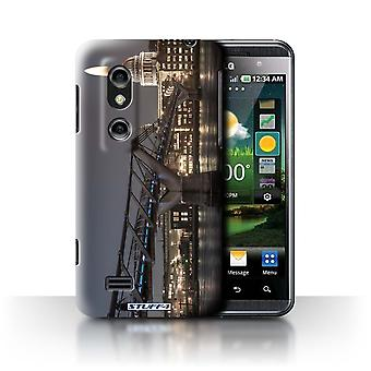 STUFF4 Case/Cover voor LG Optimus 3D P920/London's Burning/voorstellen