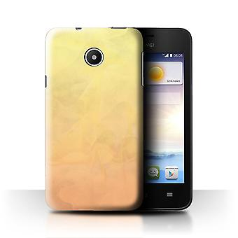 STUFF4 Case/Cover for Huawei Ascend Y330/Fire/Watercolour/Abstract Ombre