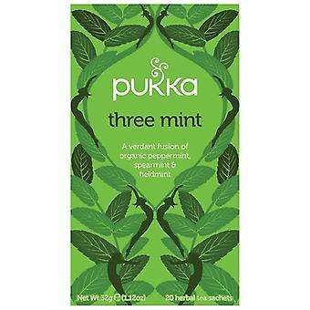 Pukka Three Mint Tea Bags 80