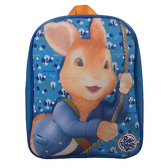 Peter Rabbit Swinging Woodland Basic Backpack Bleu