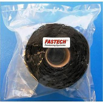 FASTECH® T0205099990305 Krok-och-slinga tejp stick-on (smältlim) Krokdyna (L x W) 5000 mm x 50 mm Svart 1 st