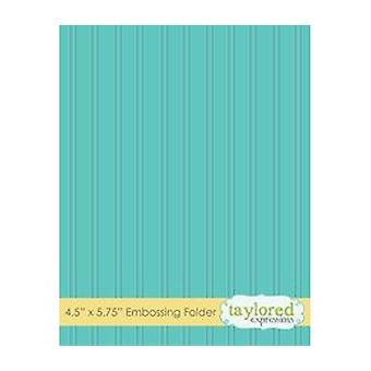 Taylored Expressions Bead Board Embossing Folder (TEEF19)