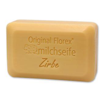 Le savon au lait de brebis de Florex - luxe de pin - boisé agréable parfum aromatique de pin a un apaisant et relaxant 100 g