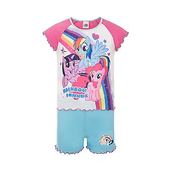 My Little Pony Pinkie Pie Rainbow Dash Official Gift Toddler Girls Short Pyjamas