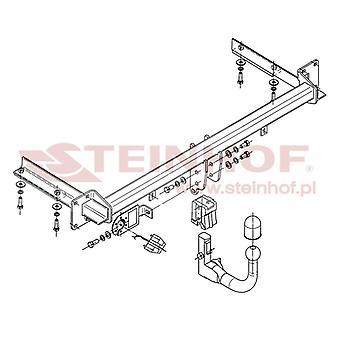 Steinhof Automatic Detach Towbar (verticale) per ASTRA mk5 Estate 2004-2009