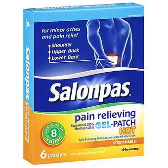 Salonpas dolore patch caldo, di gel-patch, alleviare, ea 6