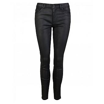 BOSS Hi Rise Skinny Coated Jeans