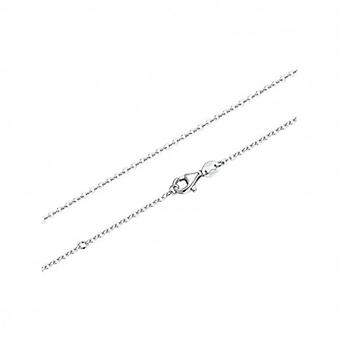Sterling Silver Necklace With Lobster Clasp - 5385
