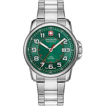 Militar suizo Hanowa 06-5330.04.006 reloj de granadero suizo