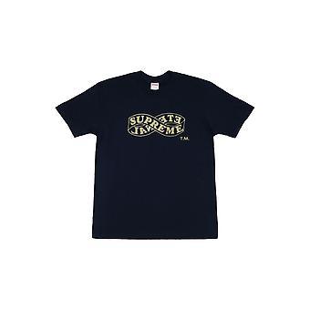 Supreme Eternal Tee (Fw18) Navy - Clothing