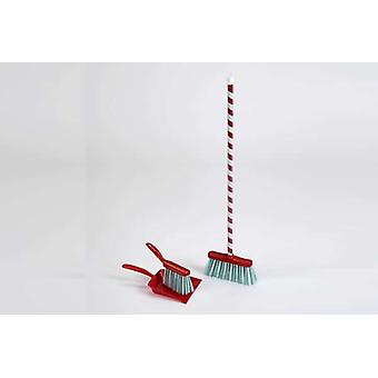 Theo Klein Candy Cane Broom 3 Piece Set For Ages 3+ and Above