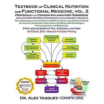 Textbook of Clinical Nutrition and Functional Medicine vol. 2 Protocols for Common Inflammatory Disorders by Vasquez & Alex