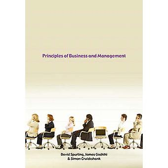 Principes van Business and Management door Spurling & David