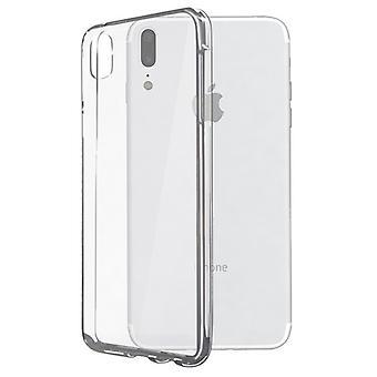 Mobile kansi Iphone X KSIX Flex läpinäkyvä