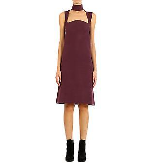 Bottega Veneta 591427vka102150 Women's Burgundy Viscose Dress