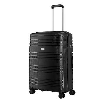 travelite Zenit trolley M, 4 rouleaux, 68 cm, 72 L, noir