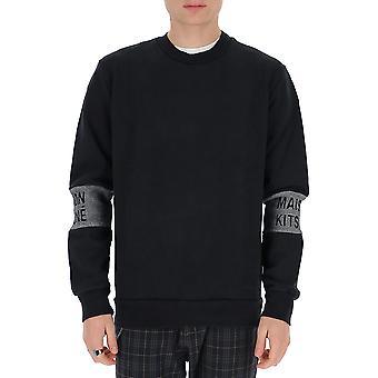 Maison Margiela Dm00306km0010bk Men's Zwart Katoen Sweatshirt