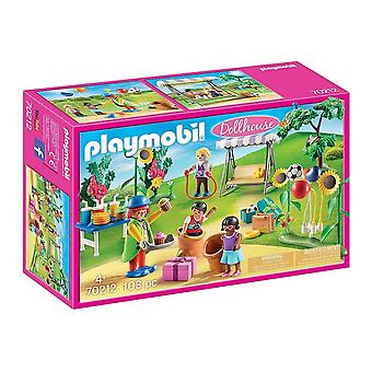 playmobil 70212 dollhouse children's birthday party playset 103pcs for ages 4